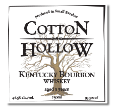 Kentucky Straight Bourbon Whiskey Label